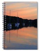 Canal Calm Spiral Notebook