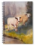 Canal Cows Spiral Notebook