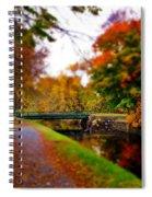 Canal Dream Spiral Notebook