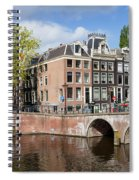 Canal Houses In Amsterdam Spiral Notebook