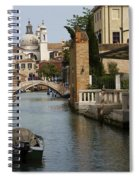 Canal In Venice Spiral Notebook