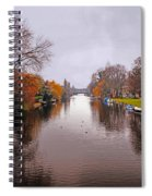 Canal Of Amsterdam Spiral Notebook