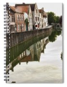 Canal Reflection  Spiral Notebook