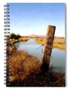 Canal View  Mesilla Spiral Notebook