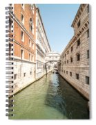Canals Of Venice Spiral Notebook