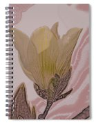 Canary Yellow Magnolia Spiral Notebook