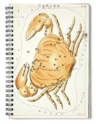 Cancer Constellation - 1825 Spiral Notebook