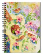 Cancion De Las Flores Spiral Notebook