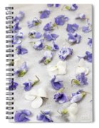 Candied Violets Spiral Notebook