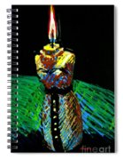 Candle Bust Spiral Notebook