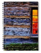Candle Shop Window Spiral Notebook