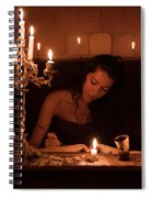 Candlelight Fantasia Spiral Notebook