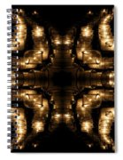 Candles Abstract 1 Spiral Notebook