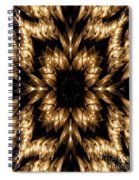 Candles Abstract 5 Spiral Notebook