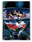 Candles In Water Spiral Notebook