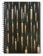 Candles On The Lake Udaipur India Spiral Notebook