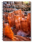 Candlestick Hoodoos Spiral Notebook