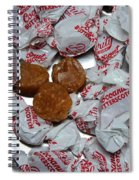 Candy - Coconut Butterscotch Kisses - Sweets Spiral Notebook