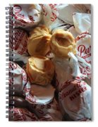 Candy - Peanut Butter Kisses - Sweets Spiral Notebook