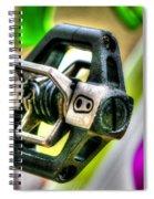Candy Bike Pedal Spiral Notebook