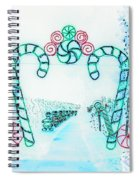 Candy Cane Christmas 2 Spiral Notebook