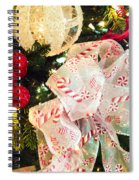 Candy Cane Dreams Spiral Notebook