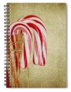 Candy Canes Spiral Notebook