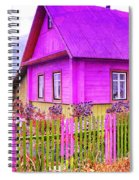 Candy Cottage - Featured In Comfortable Art Group Spiral Notebook