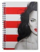 Candy Girl Spiral Notebook