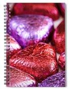 Candy Hearts Spiral Notebook
