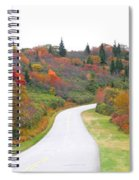 Candy Land On The Blueridge Parkway Spiral Notebook