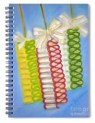 Candy Ribbon  Spiral Notebook
