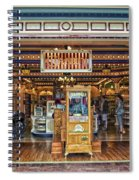 Candy Shop Main Street Disneyland 01 Spiral Notebook