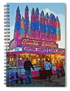 Candy Shoppe Line Art Spiral Notebook