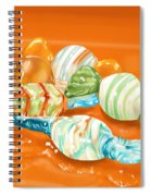 Candy Spiral Notebook