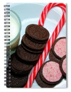 Candycane  Cookies - Milk - Cookies Spiral Notebook