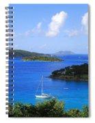 Caneel Bay In St. John In The U. S. Virgin Islands Spiral Notebook