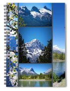 Canmore Alberta Spiral Notebook