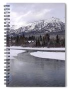 Canmore Winter Spiral Notebook