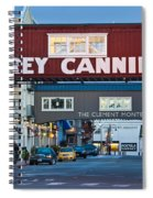 Cannery Row Area At Dawn, Monterey Spiral Notebook
