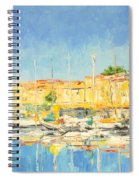 Cannes Harbour Spiral Notebook