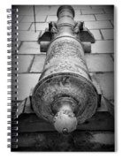 Cannon At Castillo Spiral Notebook