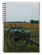 Cannon At Gettysburg Spiral Notebook
