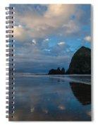 Cannon Beach Calm Morning Tidal Flats Spiral Notebook