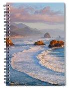 Cannon Beach Sunset Spiral Notebook