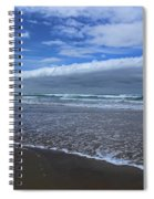 Cannon Beach Surf And Storm Spiral Notebook