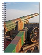 Cannon In Fortress Spiral Notebook