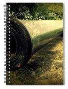 Elephanta Island Cannon Spiral Notebook
