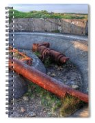 Cannon Remains From Ww2 Spiral Notebook