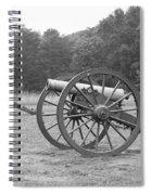 Cannons On Manassas Battlefield Spiral Notebook